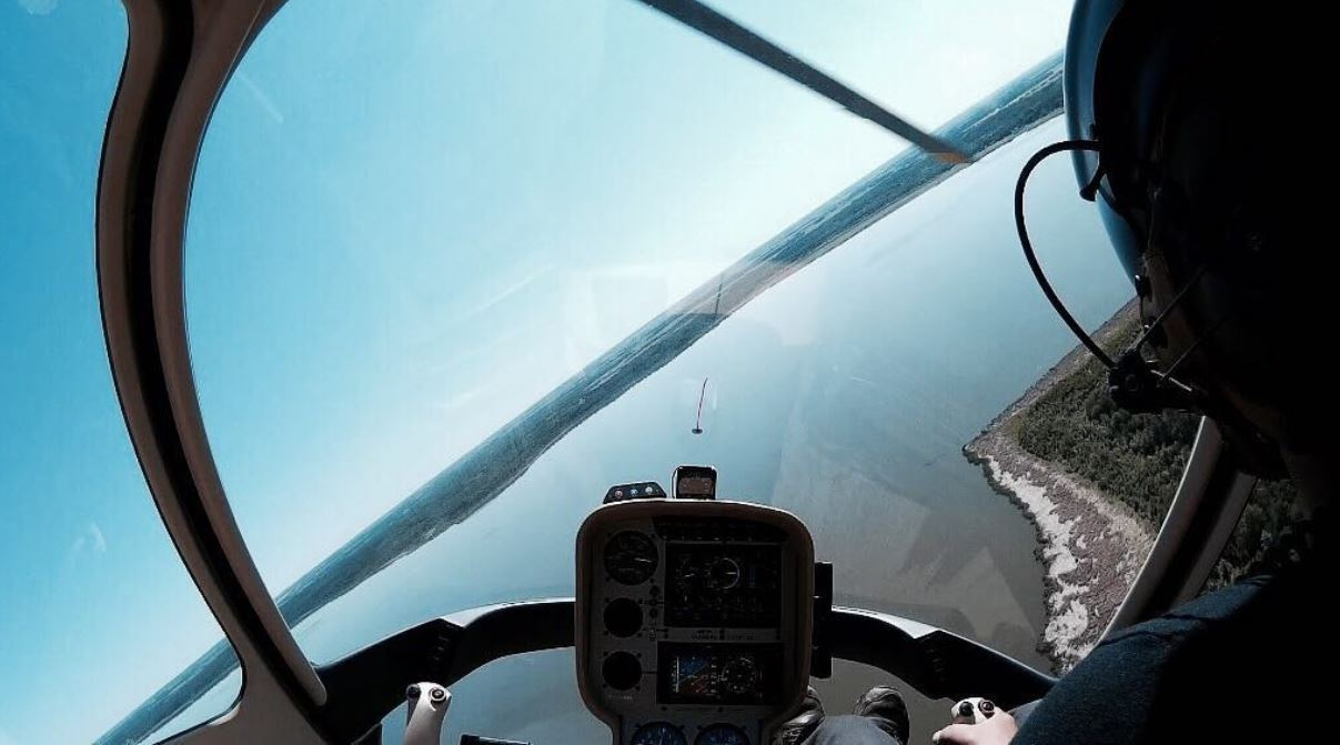 Learn to Fly Guimbal Cabri G2 Discovery Flight